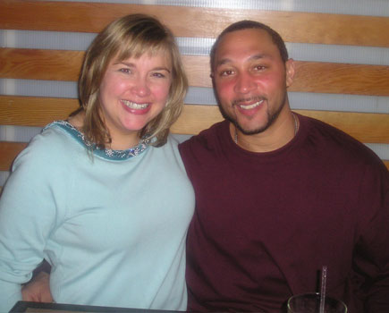 Becky and Charlie Batch, Pittsburgh Steelers