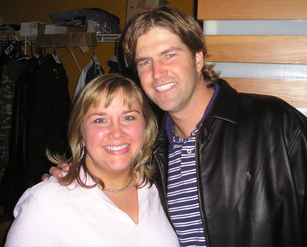 Becky and Chris Gardoki, Pittsburgh Steelers