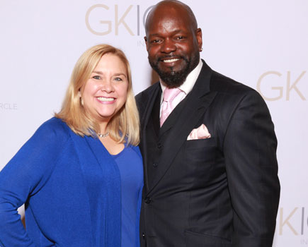 Becky and Emmitt Smith, NFL Football Player