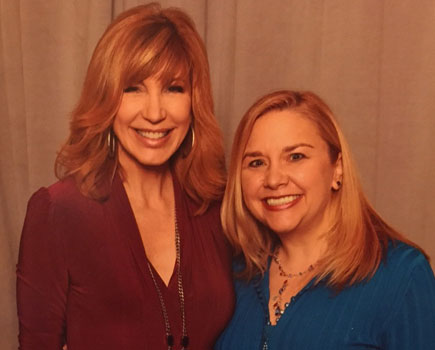 Becky with Leeza Gibbons, TV & Radio Host