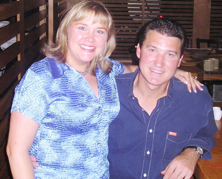 Becky and Mario Lemieux, Pittsburgh Penguins
