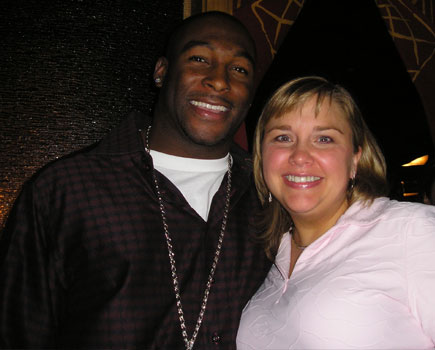 Becky and Verron Haynes, Pittsburgh Steelers
